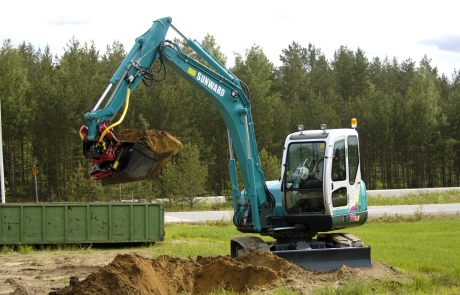 Sunward Mini excavator utilaje constructii