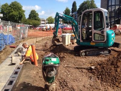 Mini excavator SUNWARD utilaje constructii