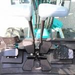 Mini excavator SUNWARD SWE20 comenzi