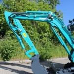 Mini excavator SUNWARD SWE20B brat excavare