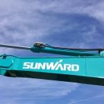 excavator Sunward
