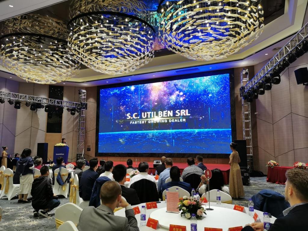 Utilben primeste Best Dealer Award din partea Sunward - 8 noiembrie 2019