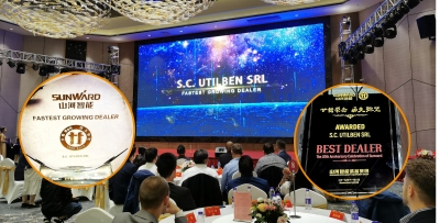 Best Dealer Award 2019 - Utilben - Partener Sunward
